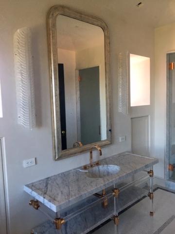 Bathroom Mirror Installation, Austin, Texas