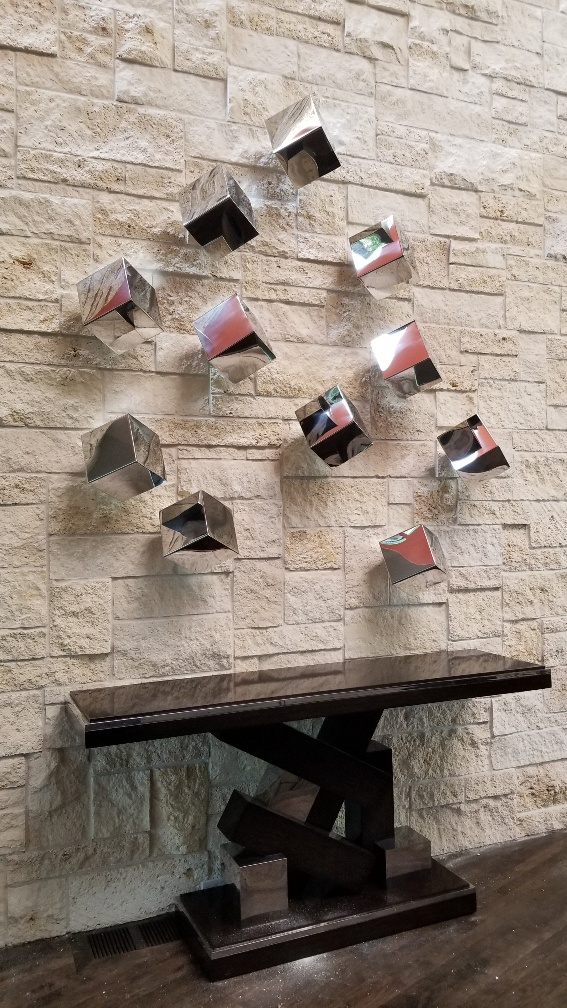 Commercial Sculpture Installation, Dallas, Texas