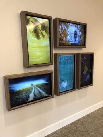 LCD Television Installation