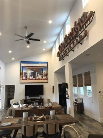 Residential Art Installation, Austin, Texas
