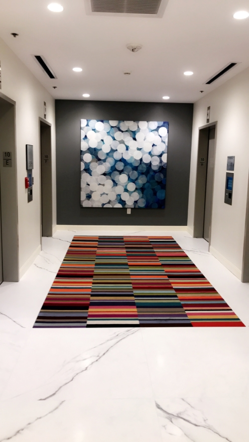 Theft-Proof Installation for Commercial Art, Austin, Texas