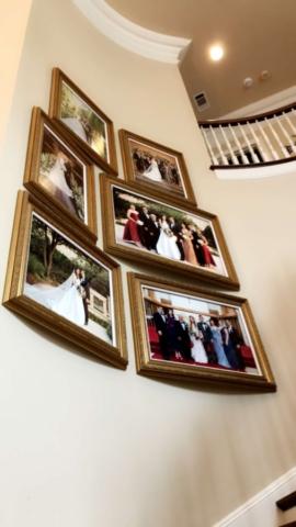 Concave Wall Photo Installation, Dallas, Texas