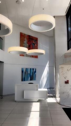Hotel Lobby Art Installation in Dallas, Texas
