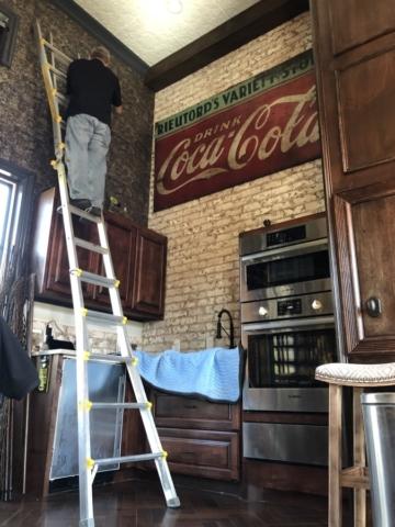 Installing in Brick