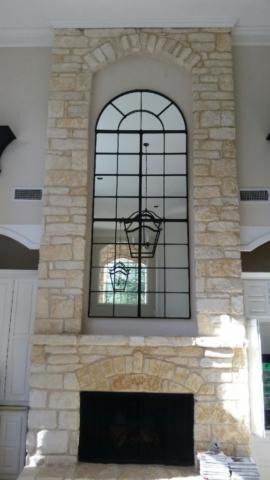 Mirror Hanging in Dallas, Texas