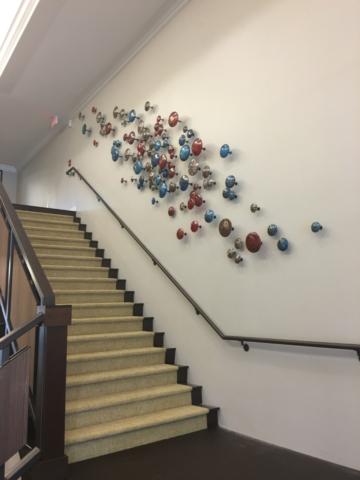 Sculptural Wall Art Hanging in Dallas Texas