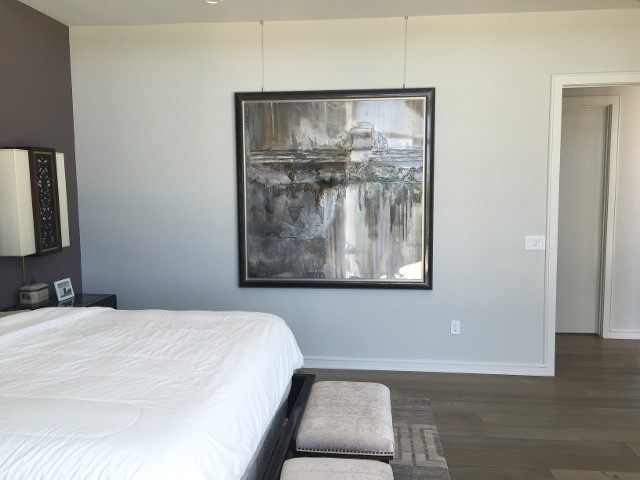 Ceiling Mounted Wall Art