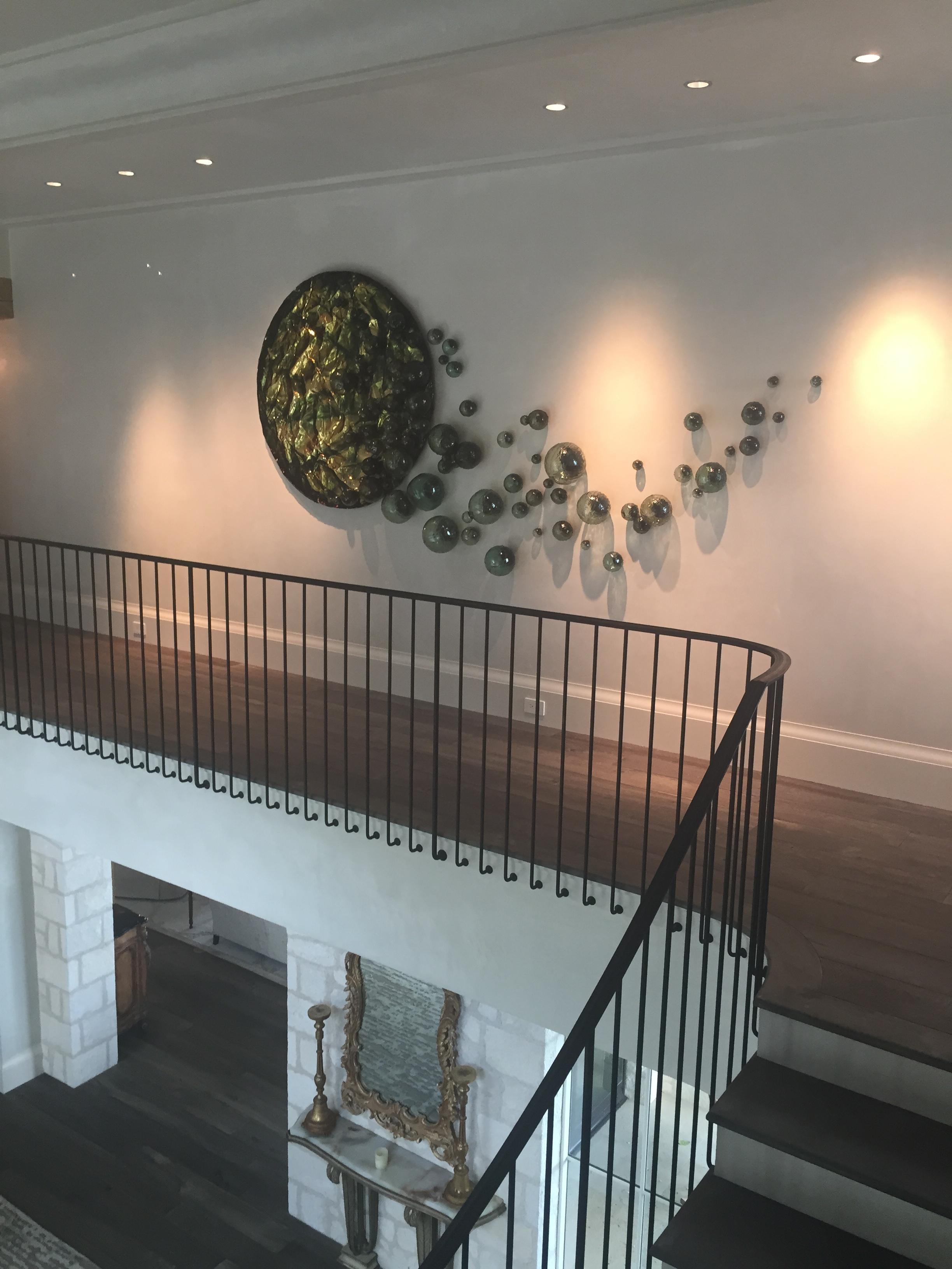 Residential Art Install