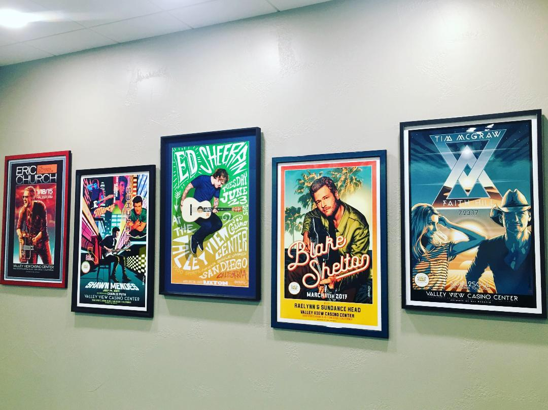 Musical Artist Concert Posters, Austin, Texas