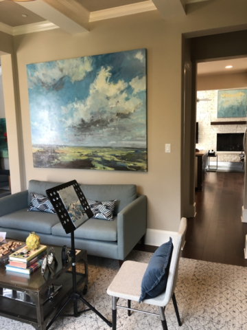 Hanging Fine Art Paintings in Dallas, Texas