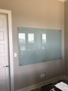 Standoff Whiteboard Install
