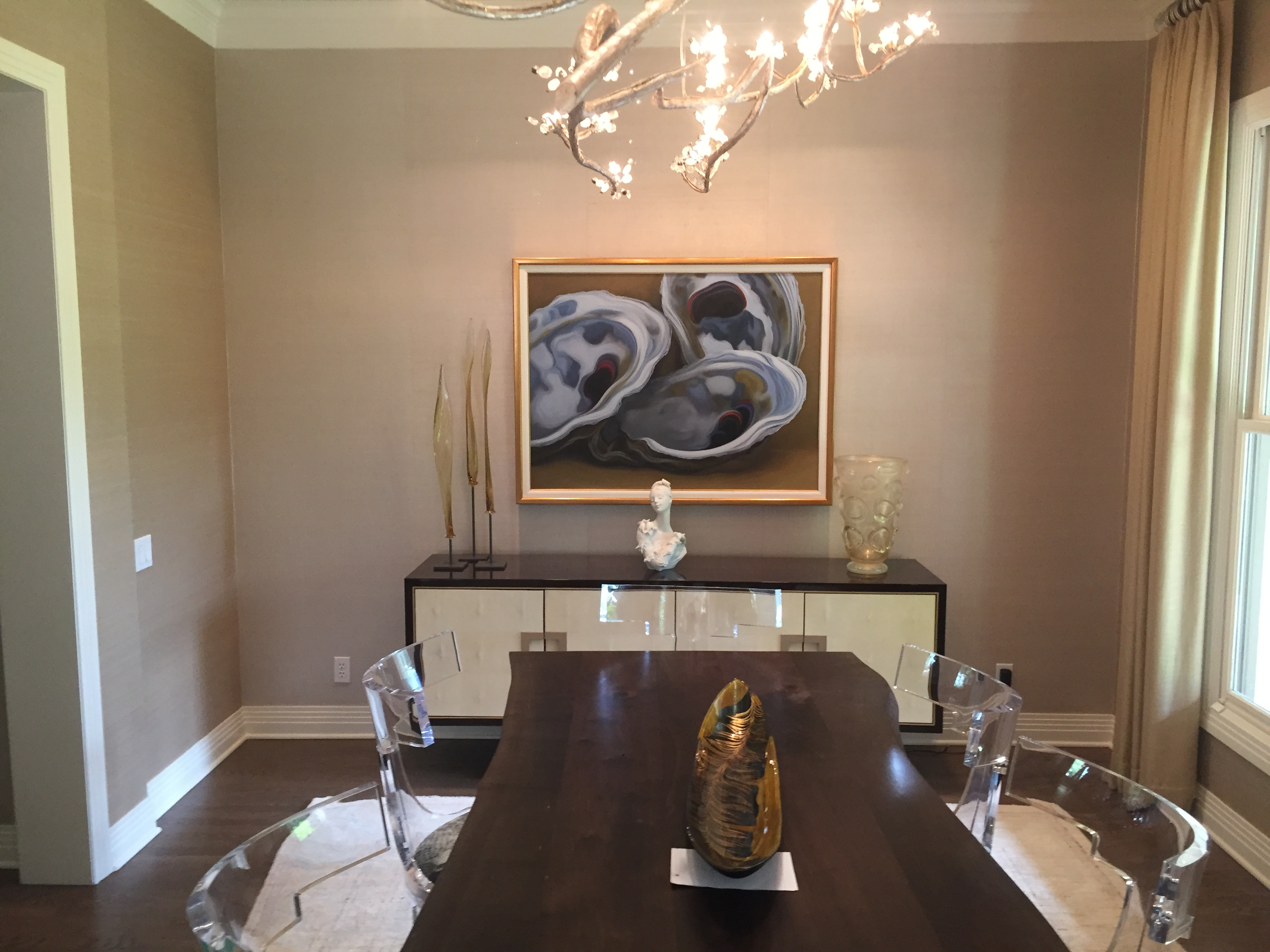 Residential Fine Art Painting Installation