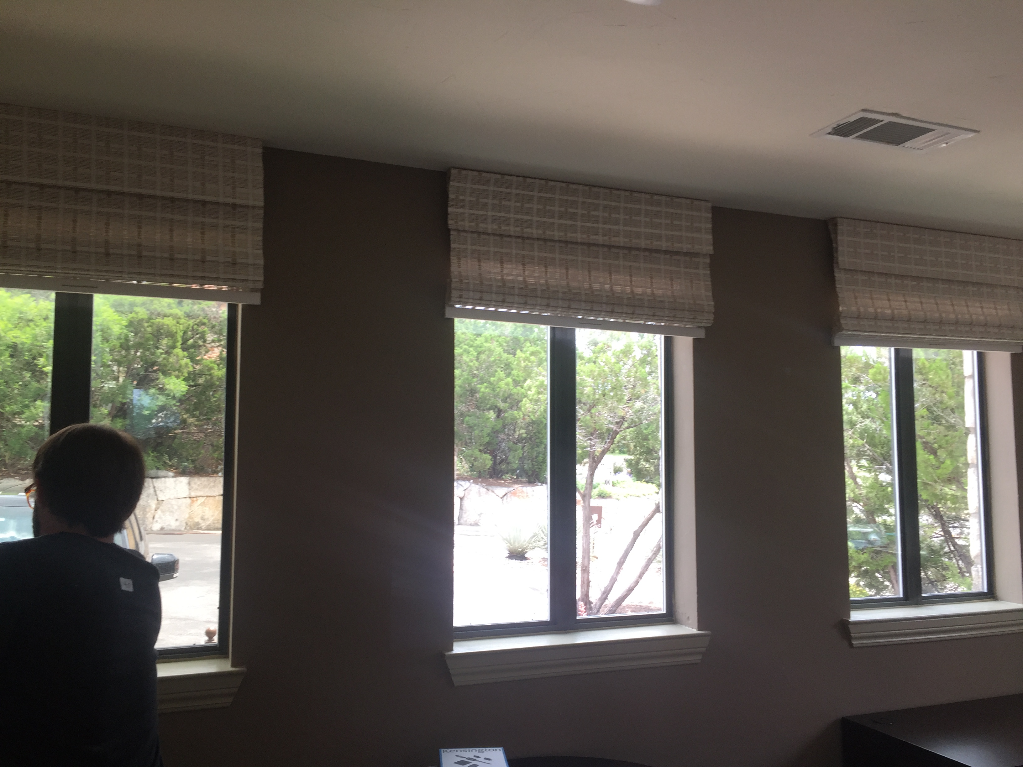 Valances for Offices at Bell Quarry Hill, Austin, Texas