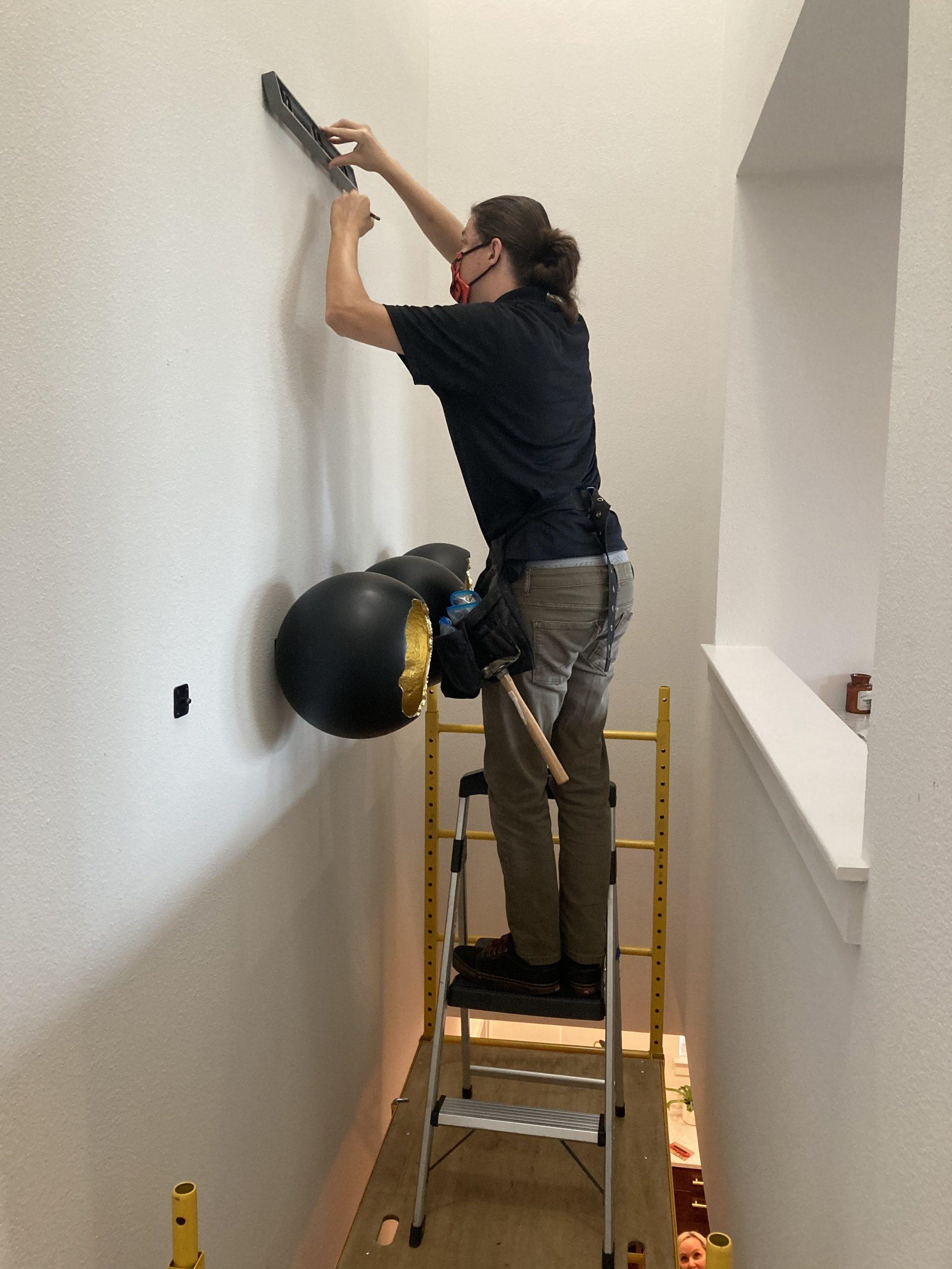 Measuring For Art Hanging